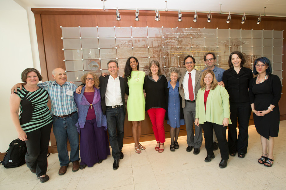 04.25.14. CCF Board Members, from left to right, Frank Fursternberg, Barbara Risman, Joshua Coleman, Linda Young, Michelle Janning, Stephanie Coontz, Etiony Aldarondo, Pepper Schwartz, Philip Cohen and Maria Schmeeckle.